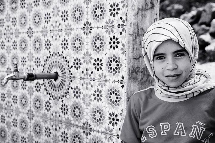 No pasara niña marroquí